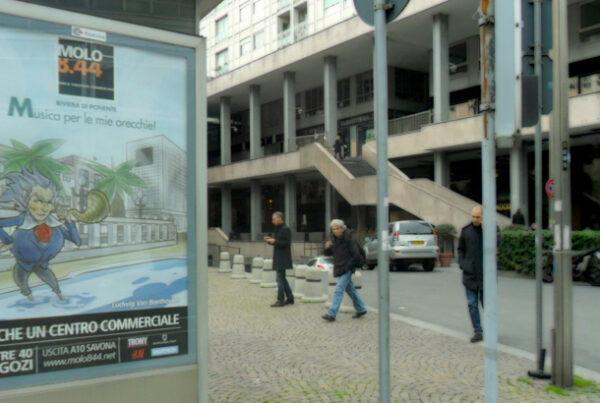 Pubblicità Molo 8.44 - Affissioni a Genova