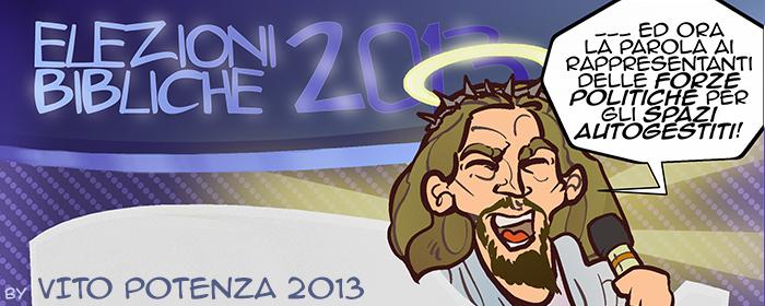 Elezioni Bibliche 2013 //Contest