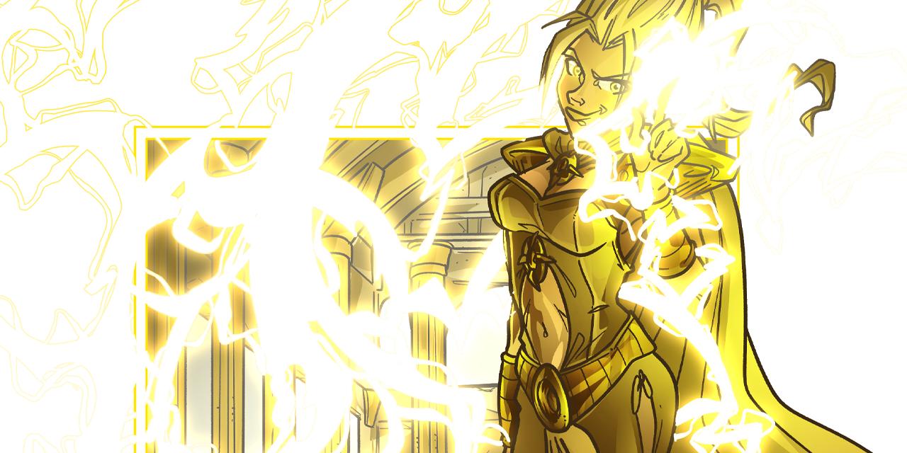 Inktober52 #17: Yellow