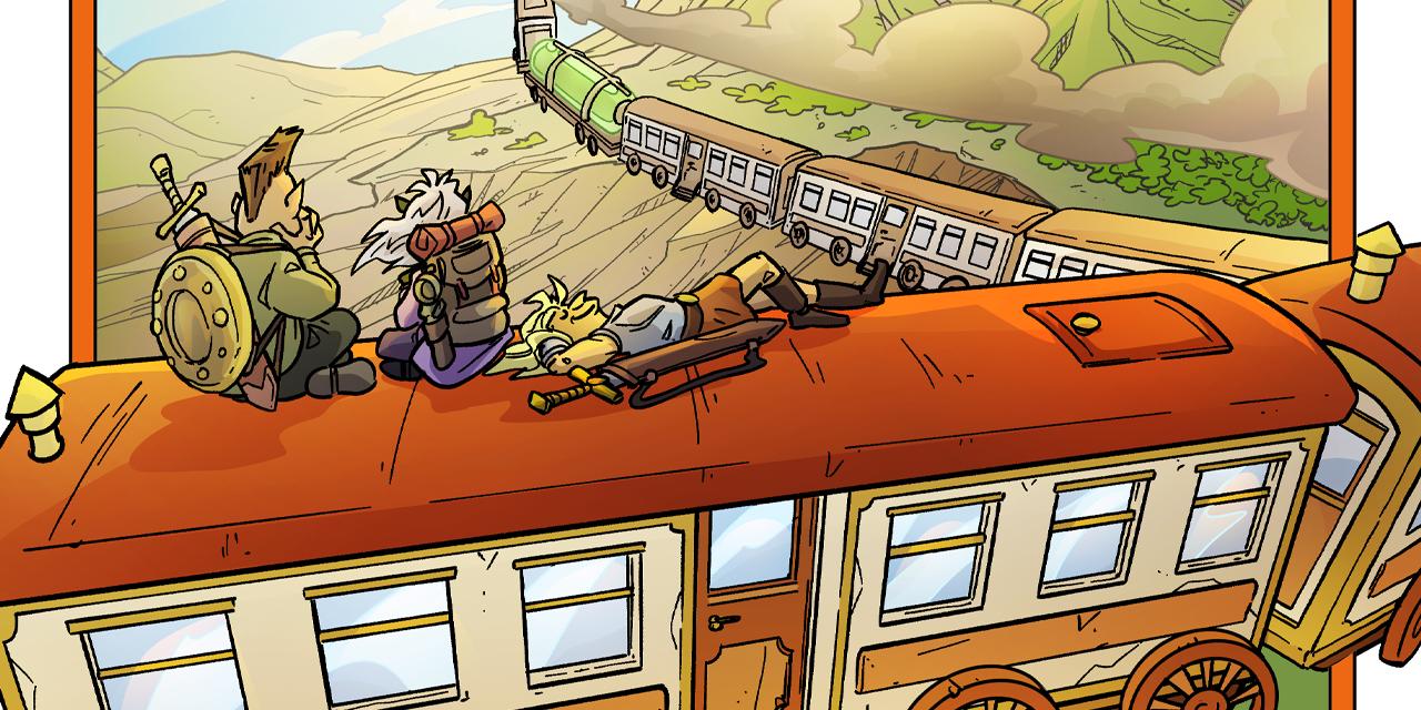 Inktober52 #18: Train