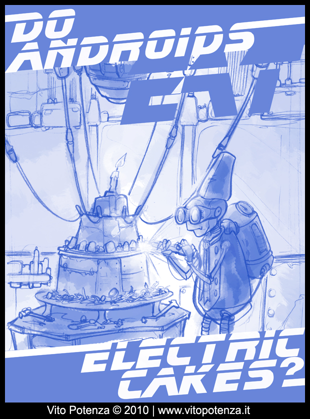 Do androids eat electric cakes? //Sketches