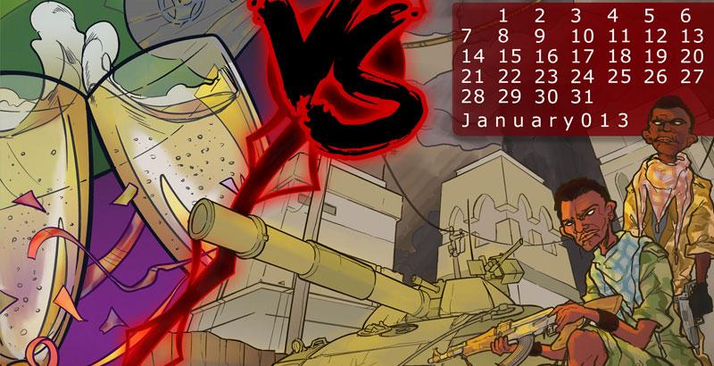 January 2013: Happy New Year VS. Same Old Shit
