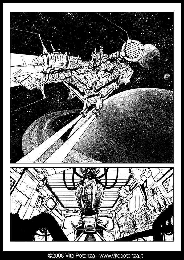 [Kina] Astronave… inchiostrata!