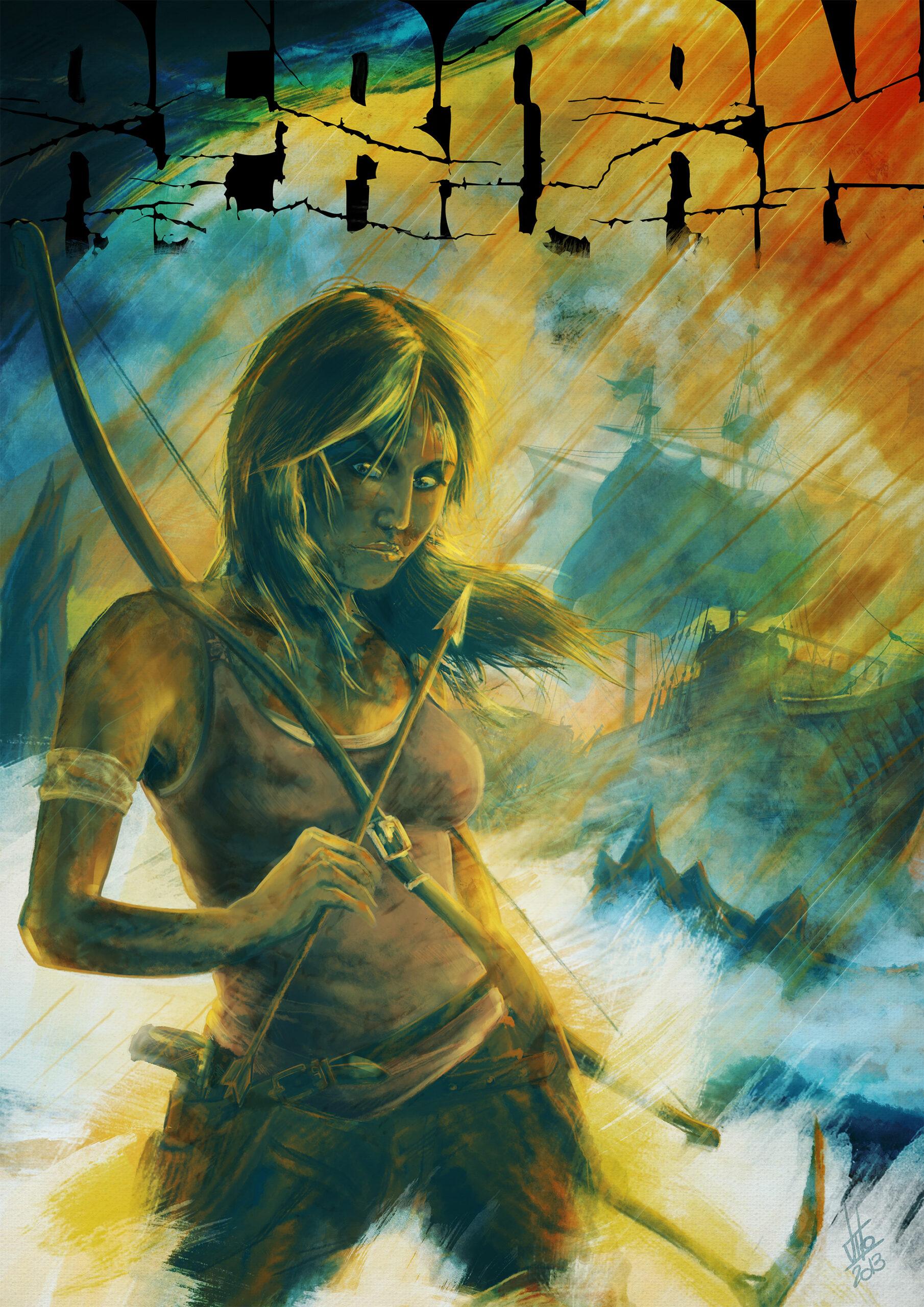 Tomb Raider Reborn Contest //Illustrazione