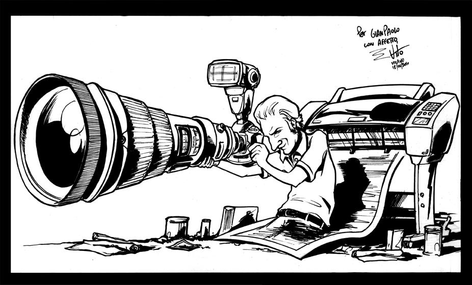 Il doc. Gianpaolo :-) //Caricatura